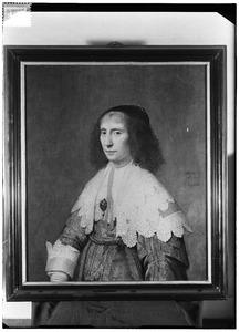 Portret van Anna Duyst van Santen ( -1652)