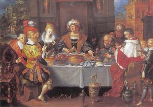 Het festijn van koning Midas