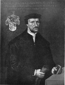 Portret van Jarich Dekema (1495-1553)