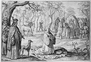 De dood van bisschop Willem van Roskilde