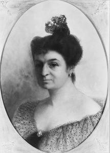 Portret van Virginie Wilhelmina Francisca Heusch (1864-1924)