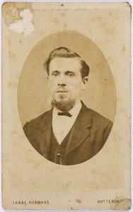 Portret van Willem Fredrik Goud (1848-1906)