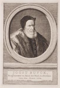 Portret van Joost Sybrantsz. Buyck (1505-1588)