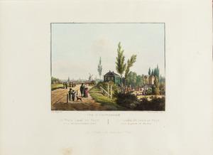 Gezicht op Tuinland en IJzicht buiten de Haarlemmerpoort
