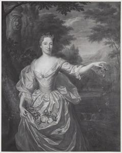 Portret van Dina Meerman (1685-1738)