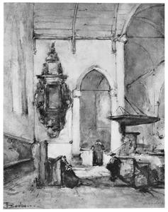 Figuren in de grote kerk te Maassluis