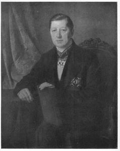 Portret van Johan Frederic Hoffman (1791-1870)