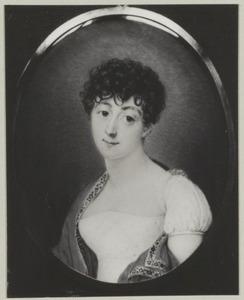 Portret van Anna Maria de Bruyn Kops (1784-1824)