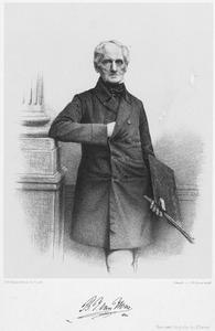 Portret van Bartholomeus Johannes van Hove (1790-1880)