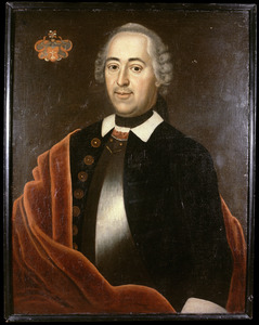 Portret van Hans August Heinrich van Sommerlatte (1718- )