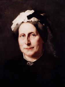 Portret van Johanna Catharina Boekenoogen (1846-1910)