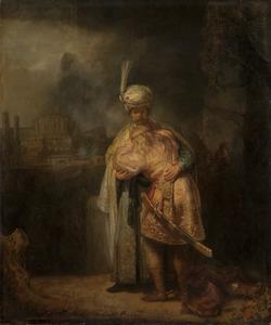Het afscheid van David en Jonathan (1 Samuel 20: 41-42)