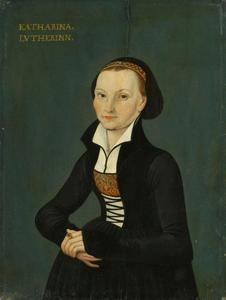 Portret van Katharina von Bora
