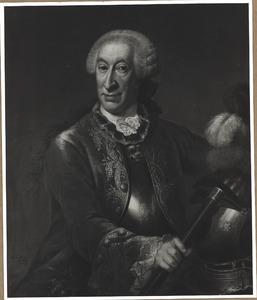 Portret van Hobbe Esaias van Aylva (1696-1772)