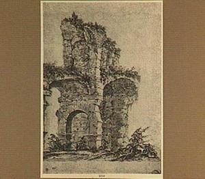 Rome, ruïnes van het Colosseum