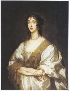 Portret van Cecilia Crofts (?–1638), wife of Thomas Killigrew