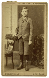 Portret van Anton Rudolf Mauve (1876-1962)