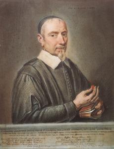 Portret van predikant en oudheidkundige Johannes Smetius (1590-1651)