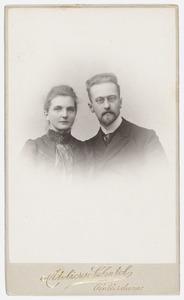 Dubbelportret van Johanna Wilhelmina Oorthuys (1882-1966) en Jan Doekes de Stoppelaar (1873-1913)