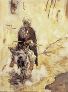 Oosterling op ezel
