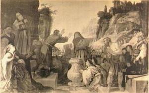 Paulus en Barnabas te Lystra asl goden aanbeden (Handelingen 14:11-18)