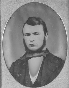 Portret van Johannes Gerardus Rijk Vos (1832-1918)