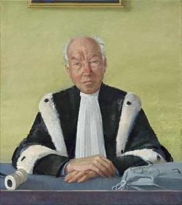 Portret van Willibrord Jacob Maria Davids (1938-)