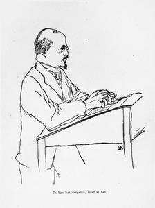 Portret van Samuel Mendes da Costa (1862-1943)