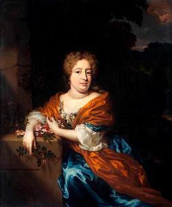 Portret van Petronella Dunois (1650-1695), echtgenote van Pieter van Groenendijck