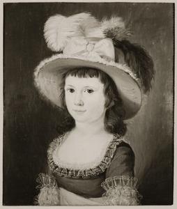 Portret van Johanna Wilhelmina van Tets (1776-1850)