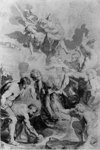 De marteldood van de Heilige Stefanus