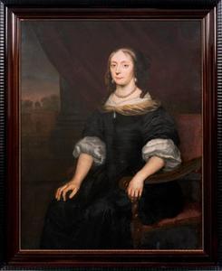 Portret van Susanna Elisabeth Tamminga (1646-1680)