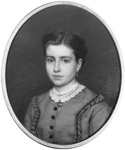 Portret van Geertruij Jacoba Lammertine Catharina de Jongh (1853-1918)