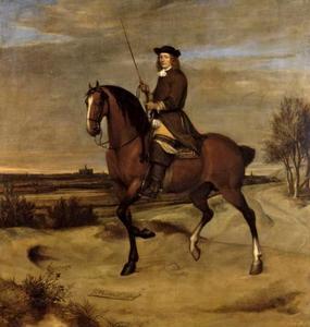 Ruiterportret van Dirck Decker (1644-?)