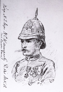 Portret van N.C. Wampach (1873-1905)
