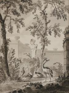 Vogels in een park