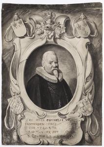 Portret van Cornelis van Deuverden van Kragtwijck (1557-1634)