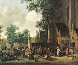De Riviervismarkt te Den Haag