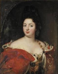 Portret van Sophie Charlotte, Koningin van Pruisen (1668-1705)