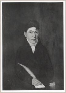 Portret van Johannes Anthon Frederik Bruijns (1785-1840)