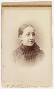 Portret van Cornelia Gerarda 't Hooft (1858-1917)