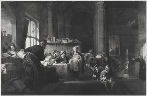 De roeping van de apostel Matteüs