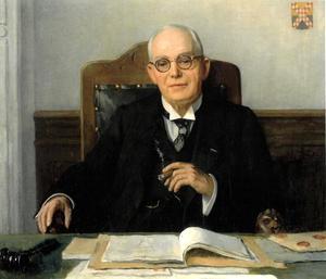 Portret van Johannes Josephus Hendrikus Snijders (1872-1953)