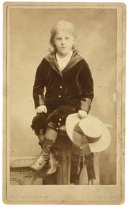 Portret van een jongen, waarschijnlijk Simon Willem Maris (1873-1935)