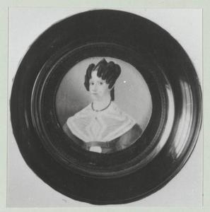 Portret van Antje Vander (1804-1843)