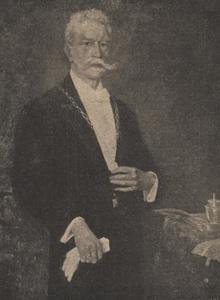 Portret van H. van Elzen