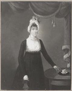 Portret van Johanna Petronella Sophia Simons (1776-1855)