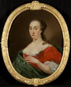 Portret van Alegonda Beckeringh (1710-1780)