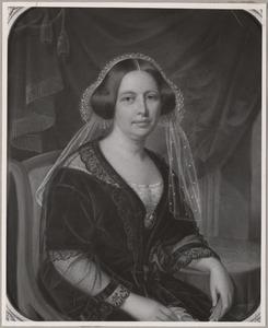 Portret van Maria Helena Cornelia van Styrum (1805-1873)