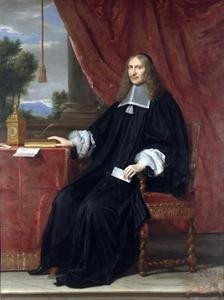Portret van een man in ambtskleding